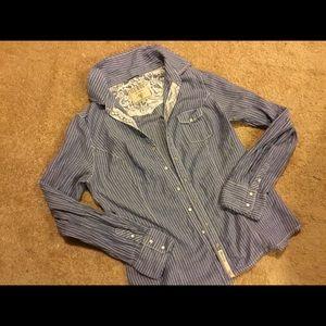 Women's Guess button down shirt